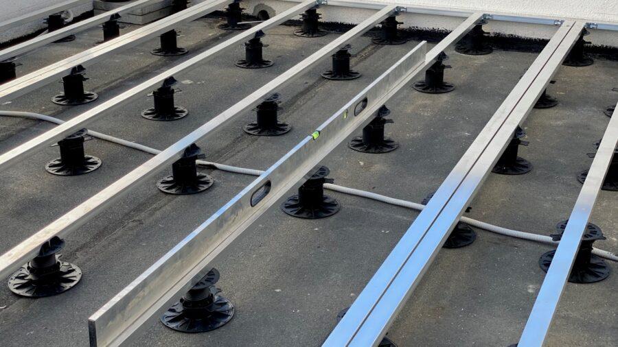 montaż tarasu na dachu poznań deski tarasowe