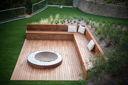 palenisko taras ogród